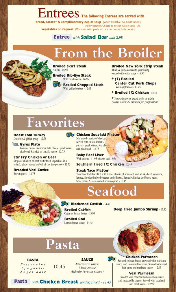 american breakfast buffet menu